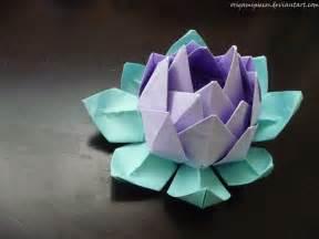 Origami Lotus Preppy Origami