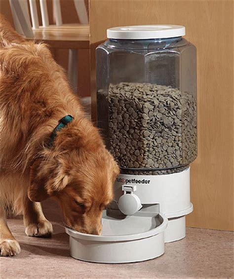 puppy feeder large autopetfeeder automatic robot pet feeder robotshop