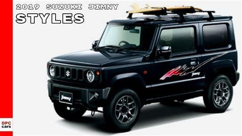 2019 Suzuki Models by 2019 Suzuki Jimny Model Range Styles