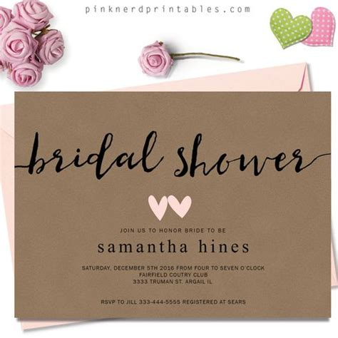 Who Gets Invited To A Bridal Shower by 25 Best Ideas About Bridal Shower Invitations On