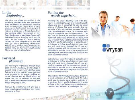 brochure templates for photoshop cs3 tri fold brochure template vizz de igner