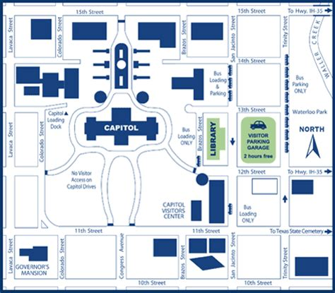 texas capital map visit us tslac