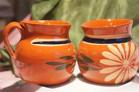 Handmade Mexican Pottery - reserved for steph handmade beautiful mexican clay pottery