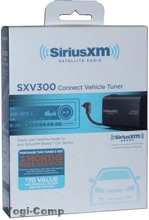 Xm Radio Gift Card - siriusxm sxv300 satellite radio sirius xm connect vehicle tuner sxv300v1 kit ebay