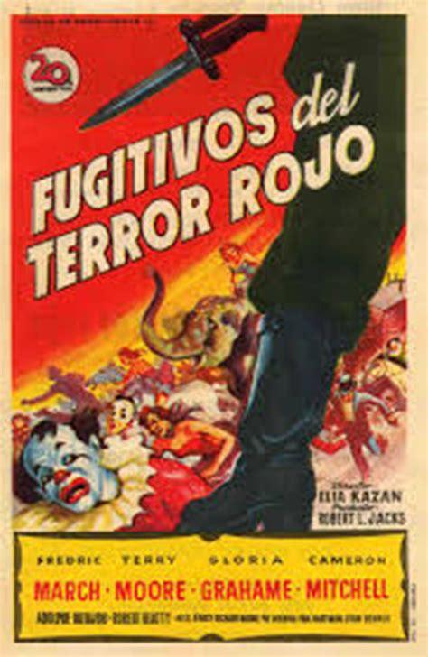 el terror rojo fugitivos del terror rojo pel 237 cula 1953 sensacine com