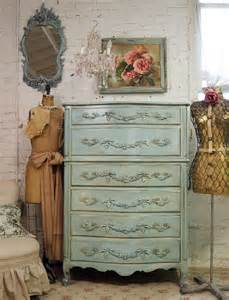 shabby chic provincial furniture vintage painted cottage aqua chic provincial dresser