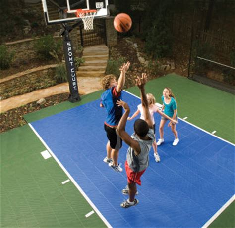 sports you can play in your backyard backyard game courts sportcourtbc com