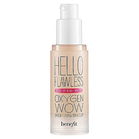 Foundation Hello Flawless Benefit Cosmetics Hello Flawless Oxygen Wow Liquid