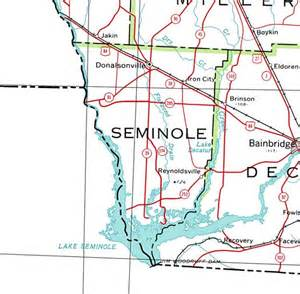 seminole map georgiainfo