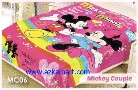 Selimut Bulu Anak Anak Mickey Mouse grosir selimut bulu balmut gulmut selimut murah