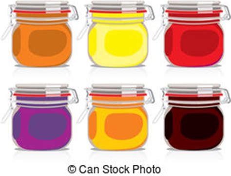 vasi marmellata illustrazione vettoriale di vasi marmellata cherary