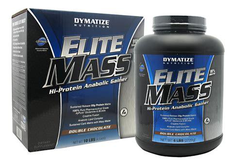 Elite Mass Gainer 10lbs Dymatize elite mass by dymatize 10lb tfsupplements