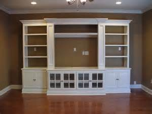 Building Bookcases Into A Wall Built In Entertainment Center Casual Cottage