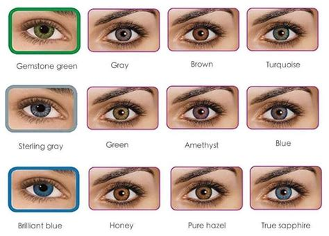 colored contacts no prescription 1000 ideas about contact lenses no prescription on