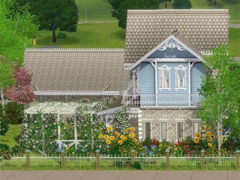 Sims 3 Cottage by S Willow Cottage Ii