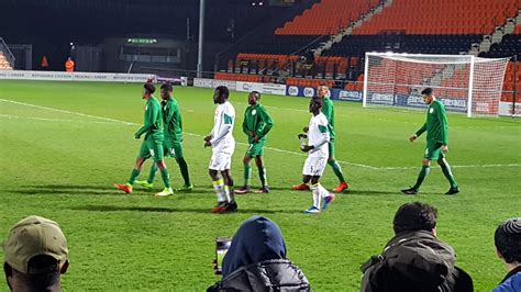 Nigeria Match Friendly Match Nigeria 1 1 Senegal Match Report Netnaija