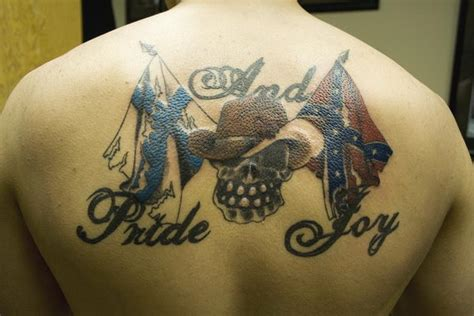 southern pride tattoos tattoos 37 awesome confederate flag tattoos