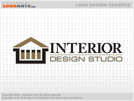 home interior design logo interior design logo