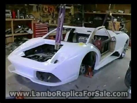 Build A Lamborghini Lamborghini Murcielago Lp640 Replica Update Building