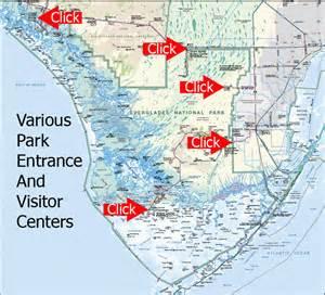 everglades national park florida map everglades national park cing images