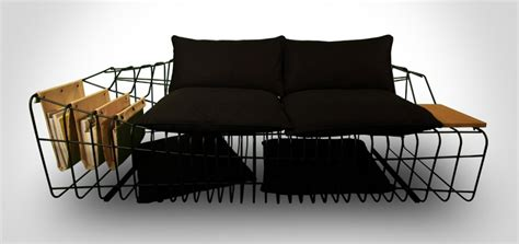 industrial style couch minimalist sofa with industrial twists sofist by sule koc