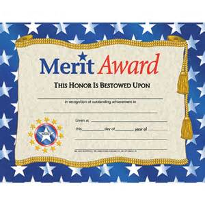 Merit Award Certificate Template by Merit Award Certificate School Publishing A