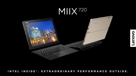 Laptop Lenovo Miix 720 lenovo miix 720 tour tech and