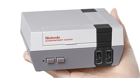 nintendo classic console nintendo re releasing nes console with the nes classic edition