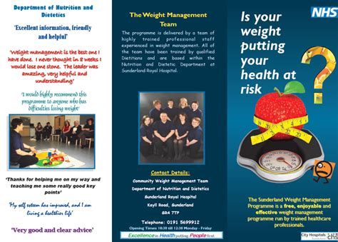 weight management referral nhs nhs keeping posted