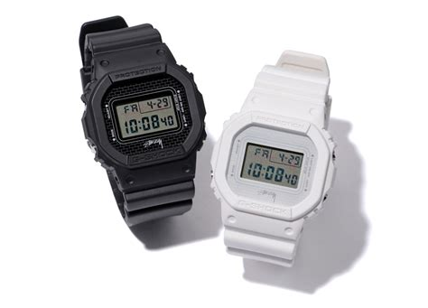 G Shock Dw 5604 stussy teams up with casio g shock on the dw 5600 freshness mag