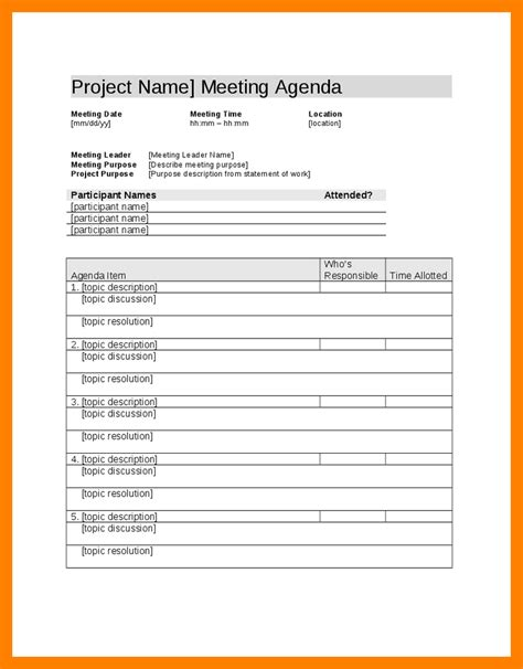 sle minutes of meeting template project template doc 28 images 18 project