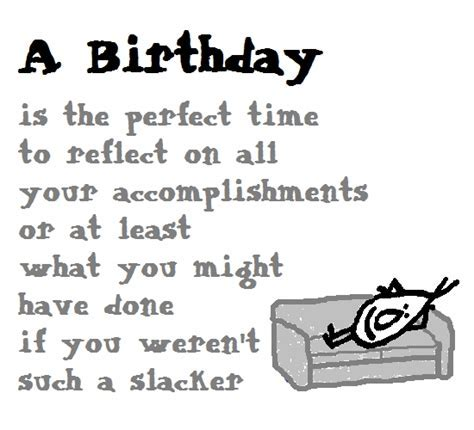 A Birthday   A Funny Birthday Poem. Free Funny Birthday