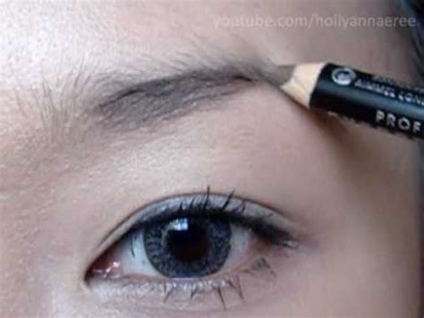 how do i my how i do my brows filling them in brow pencil application
