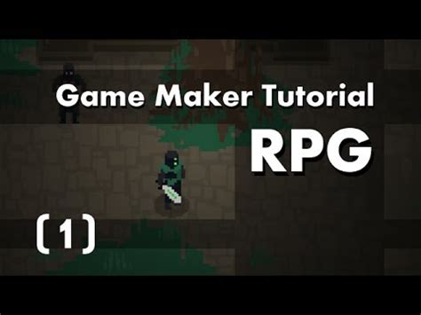 [game maker tutorial] build an rpg [1] in 10mins youtube
