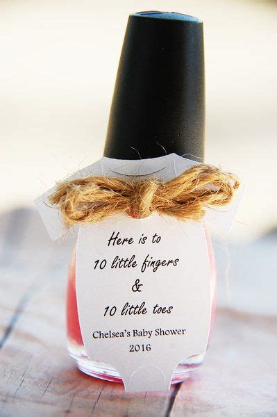 Nail Baby Shower Favor by 25 Best Ideas About Nail Favors On