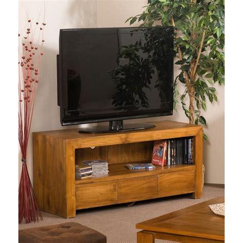 meubles tv meuble tv 3 tiroirs teck meubles macabane meubles et objets de d 233 coration