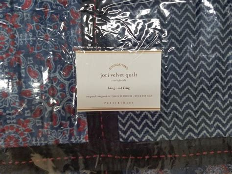 Velvet Patchwork Quilt King - pottery barn patchwork quilt king for sale classifieds