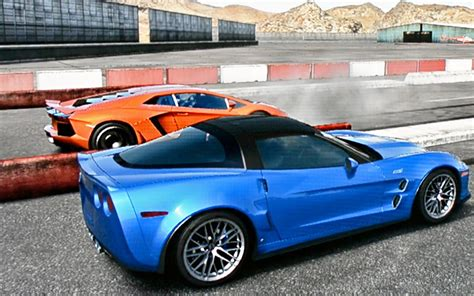 Corvette Vs Lambo by Corvette Zr1 Vs Lamborghini Aventador Drag Race
