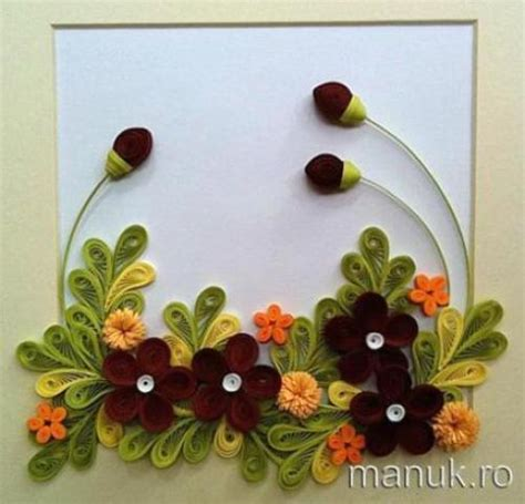 How To Make Quilled Paper Flowers - paper quilling flowers designs chilli