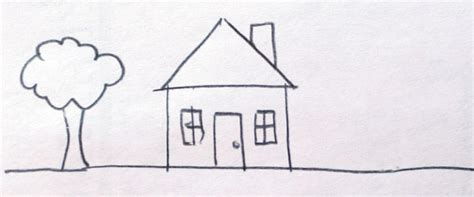 draw a house childhood architecture