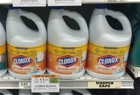 lots   clorox coupons bleach  sale  publix