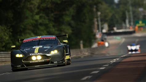 pole position and le mans record for aston martin racing