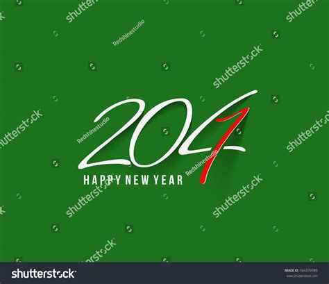 new year story text happy new year 2014 text design stock vector 164379785