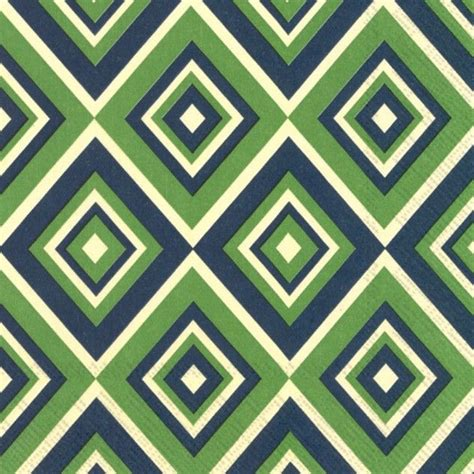 chevron pattern blue and green the squadra green modern designer paper napkins feature a