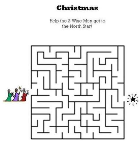 printable religious mazes kids bible worksheets free printable christmas maze