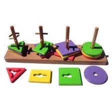Pasak Kombinasi Bentuk saffee cliq contoh mainan edukatif untuk pendidikan anak