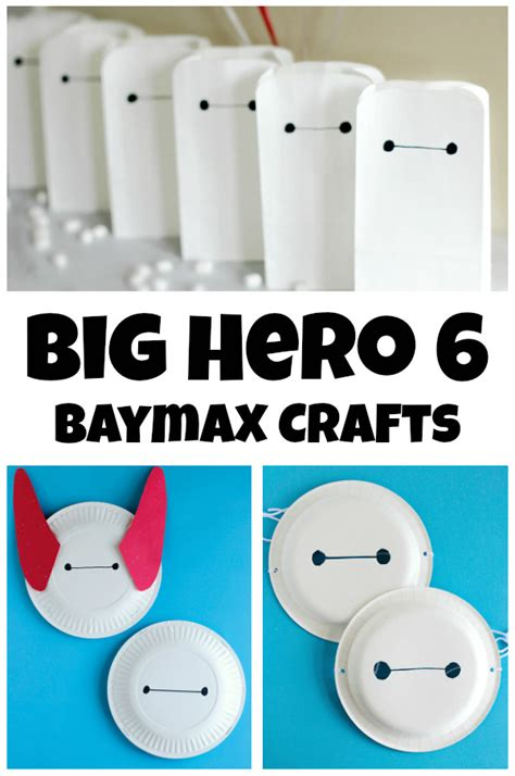 Making Christmas Decorations At Home Big Hero 6 Baymax Crafts Make And Takes