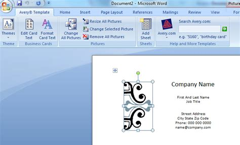 how to make business card on word how to make business cards in word