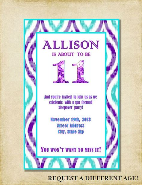 themes for a girl s 11th birthday party 14 best images about 11th birthday on pinterest