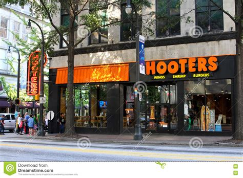 hooters atlanta georgia hooters atlanta ga editorial photography image of